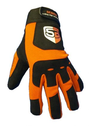 Sebra Glove Extreme Oranje/Zwart-0