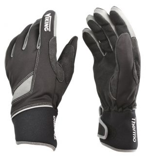 Cut resistant thermic gloves