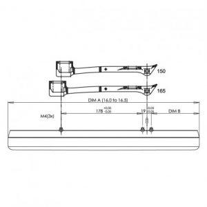 Marchese Single Spring Clap Set (pair)-284