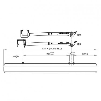Marchese Double Spring Clap Set (pair)-282
