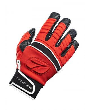 Base360 cut protective glove red/black