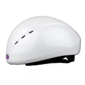 EVO Shorttrack helm wit glansend