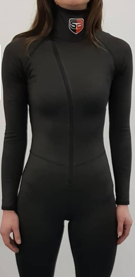 Snijvast schaatspak | Sebra Suit IV Extreme PRO BLACK-0