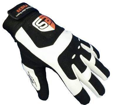 Sebra Glove Extreme Zwart/Wit-0