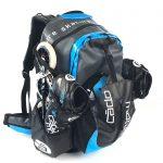 CadoMotus Waterflow Sportrugtas | Blauw-0